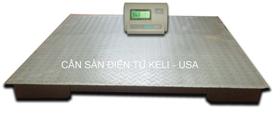 Cân sàn điện tử  KELI - USA 1mx1m 1-2 tấn