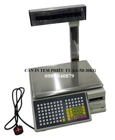 Cân điện tử in tem phiếu TM-AA-5D 30kg