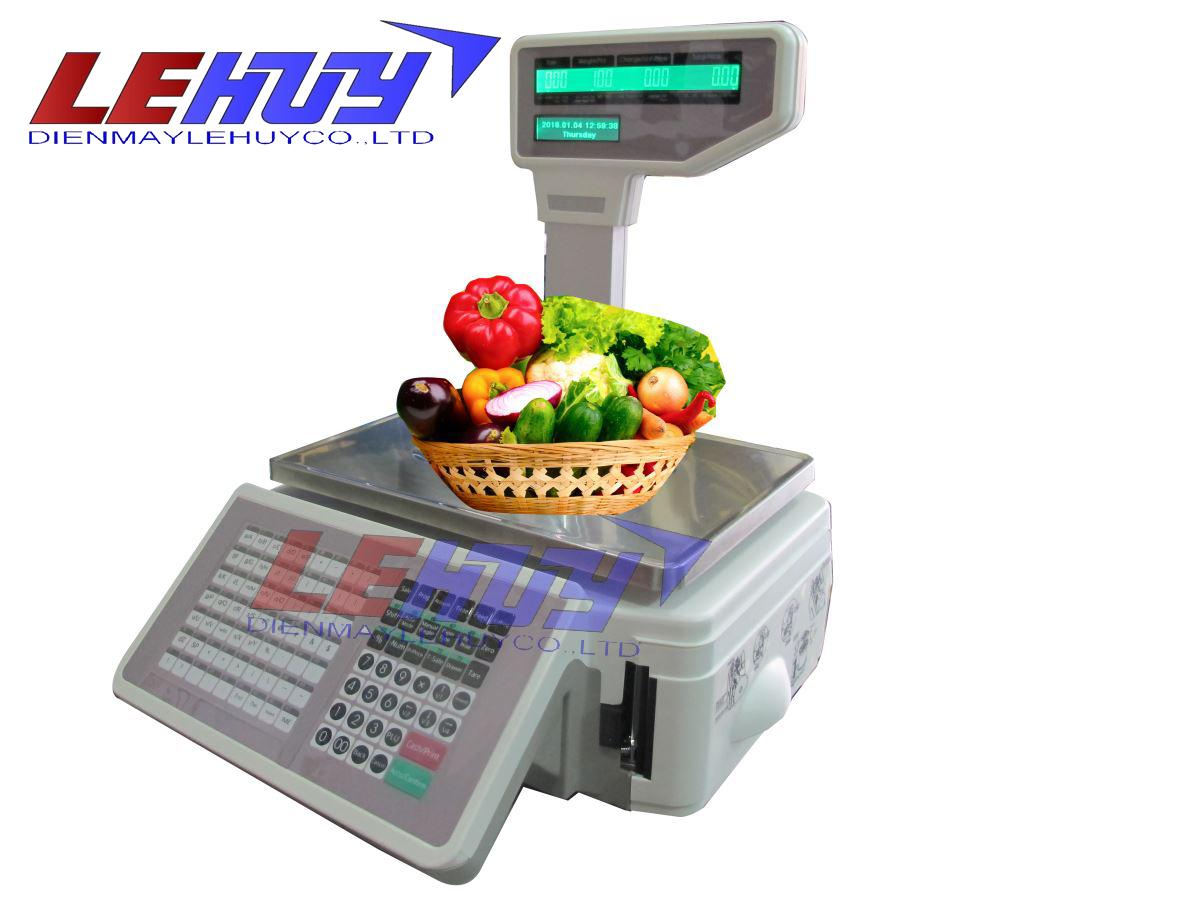Cân in tem siêu thị TM-AX Pro 30kg