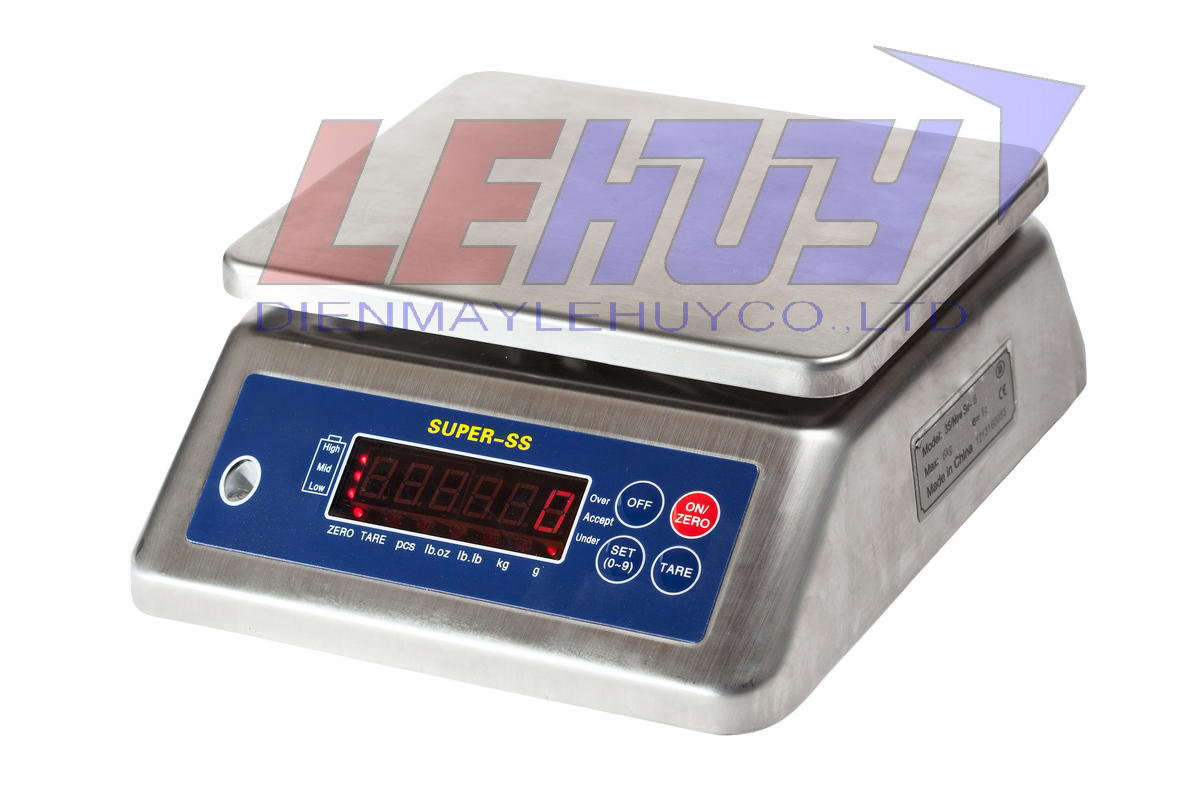 Cân điện tử chống nước Super SS 15 (15kg/2g)